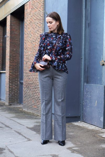 ERDEM-x-HM-wool-blend-suit-trousers-and-silk-flounced-top