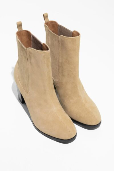 other-stories-designer-Beige-Patent-Leather-Chelsea-Boot